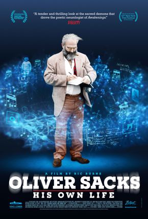 """""""Oliver Sacks: His Own Life"""" movie poster"""