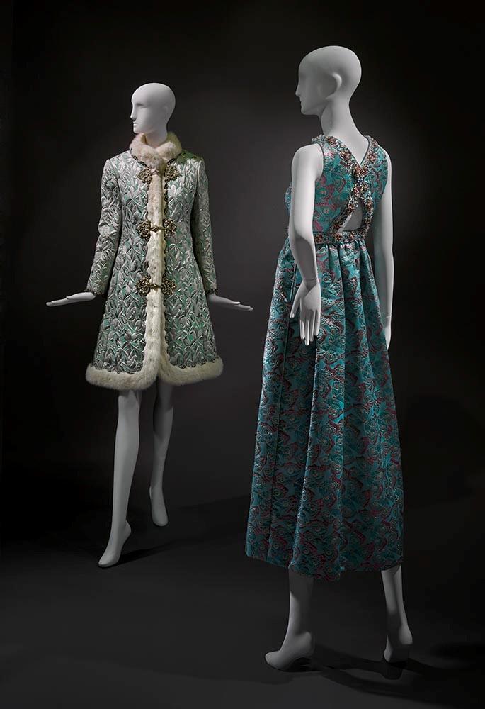 Oscar de la Renta - Coat & Dress Ensemble + Evening Ensemble