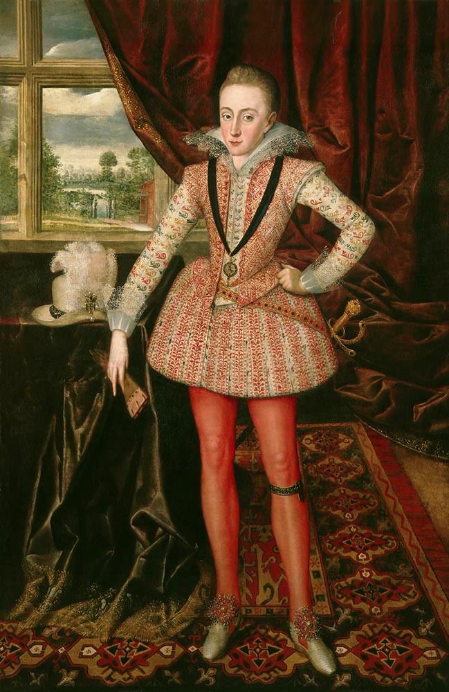Robert Peake the Elder, Henry, Prince of Wales, c. 1610