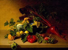 Peale Still Life with Vegetables