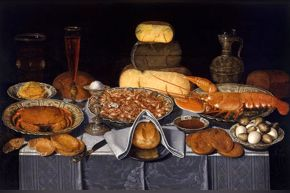Peeters - Still Life with Crab, Shrimps and Lobster