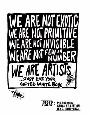 PESTS Poster, 1987
