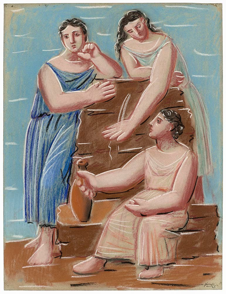 Picasso - Three Women at the Fountain