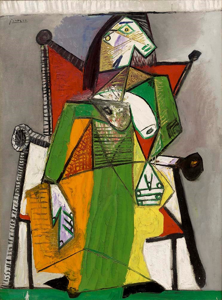 Picasso - Woman Seated in an Armchair (Femme assise dans un fauteuil)
