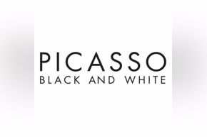 Picasso title treatment (square white)