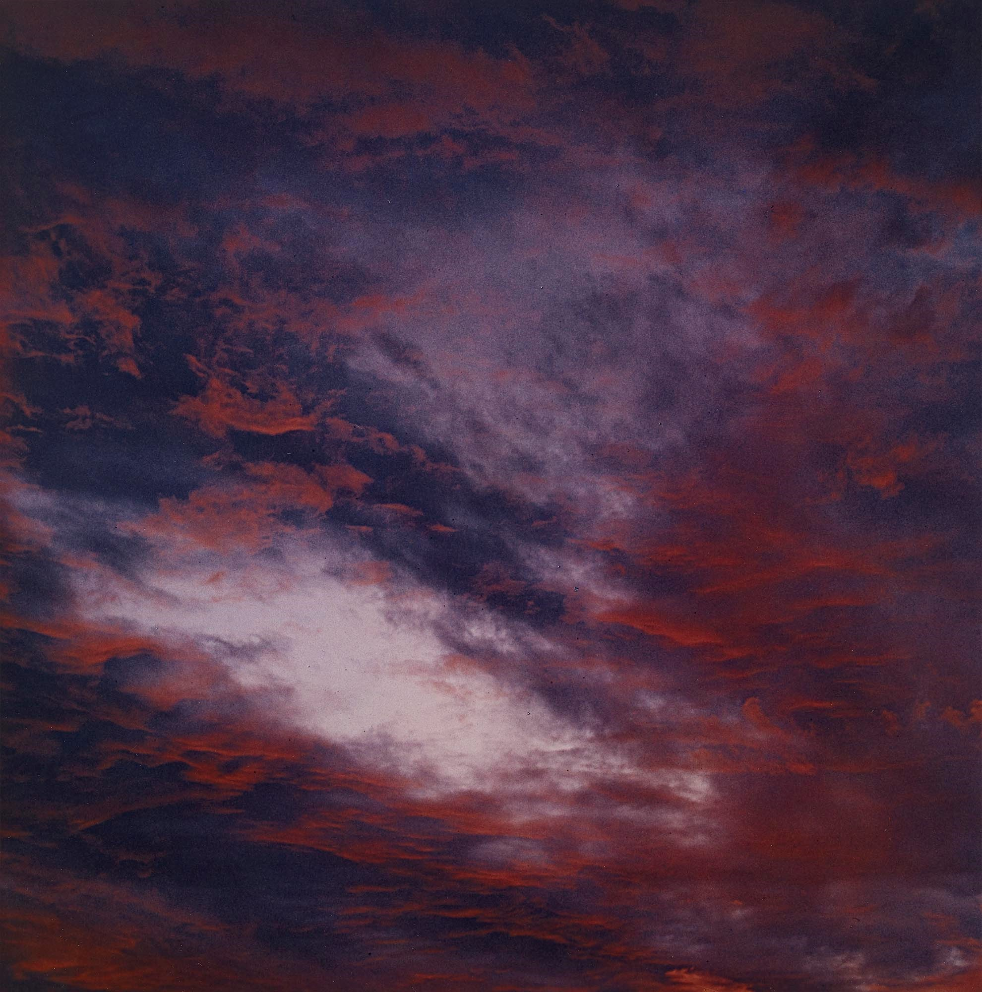 Porter - Clouds at Sunset, Tesuque, NM
