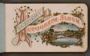 Powell Library / Scenery Autograph Album