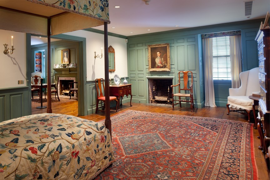 Queen Anne Suite at Bayou Bend 2019