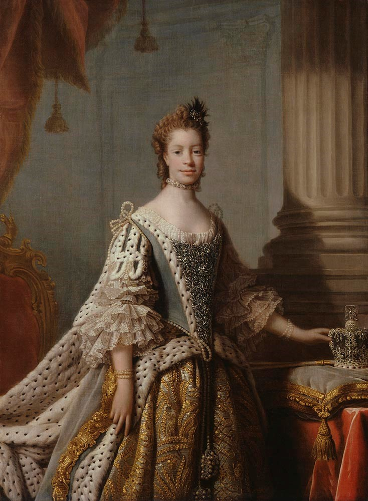 After Allan Ramsay, Sophia Charlotte of Mecklenburg-Strelitz, 1761–62