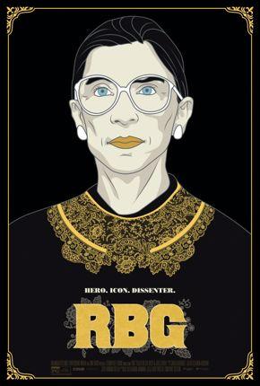 """film poster for """"RBG"""""""