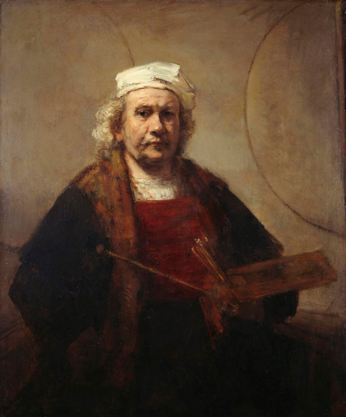 Rembrandt- Self Portrait