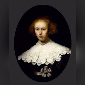 Rembrandt - Portrait of a Young Woman