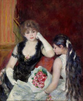 Renoir- A Box at the Theater (At the Concert)