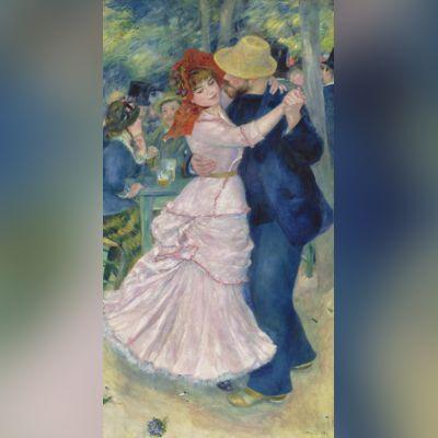 Pierre-Auguste Renoir, Dance at Bougival, 1883, oil on canvas
