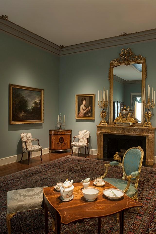 Rienzi drawing room