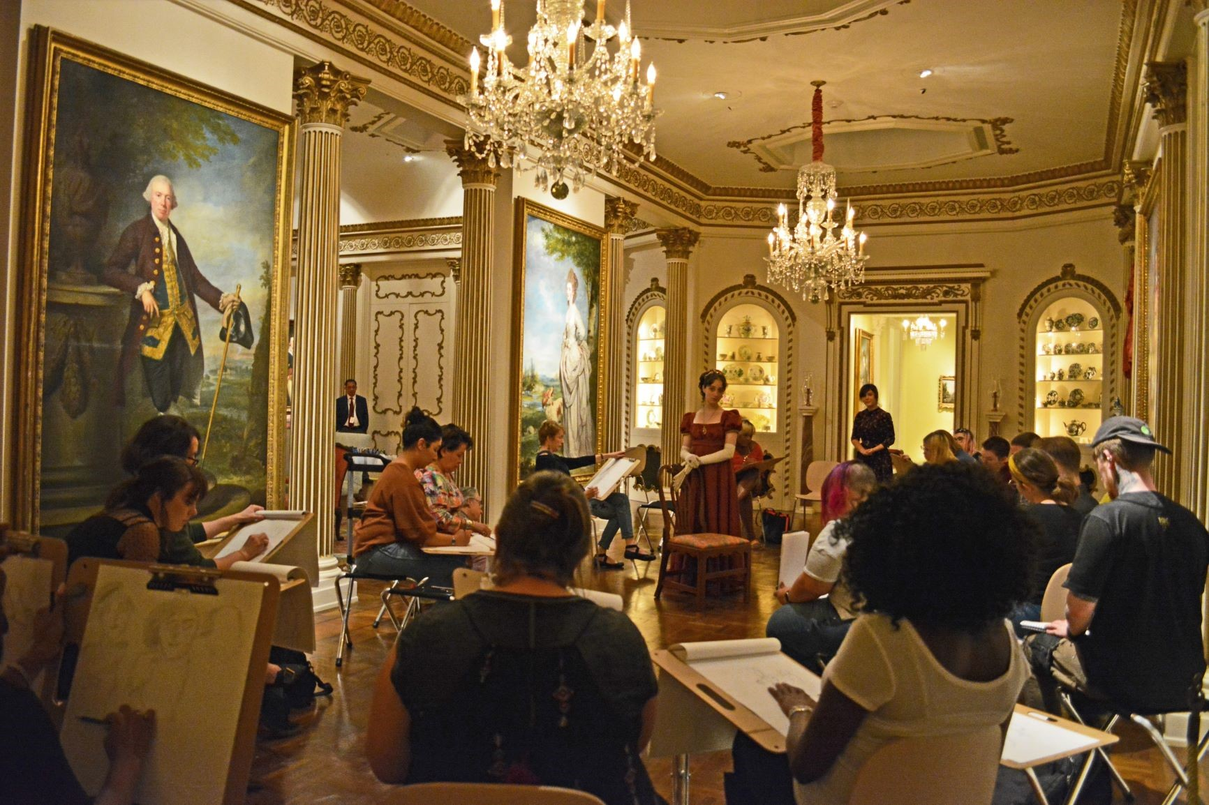 Rienzi Drawing Salon