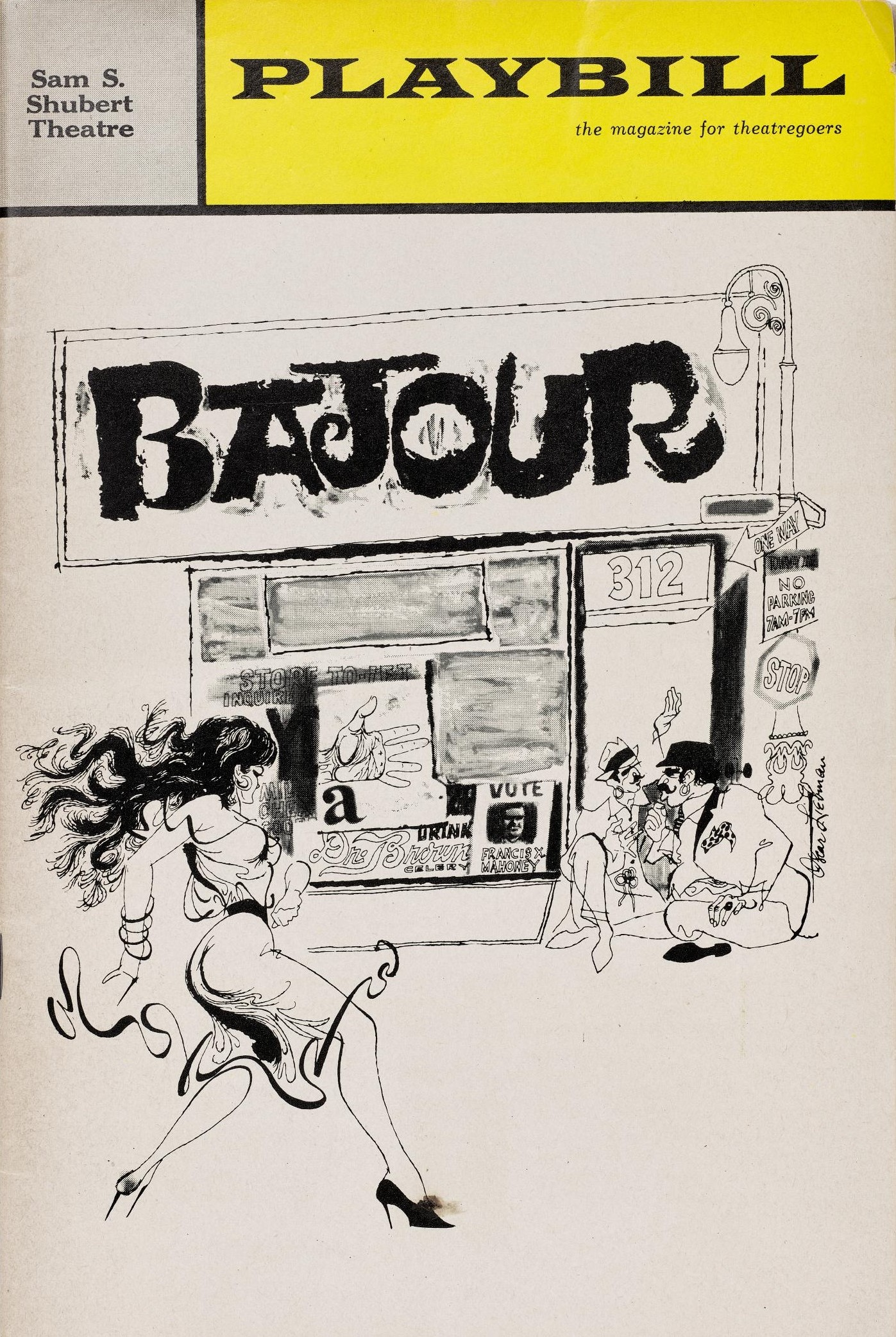 Rienzi exhibition - Bajour playbill