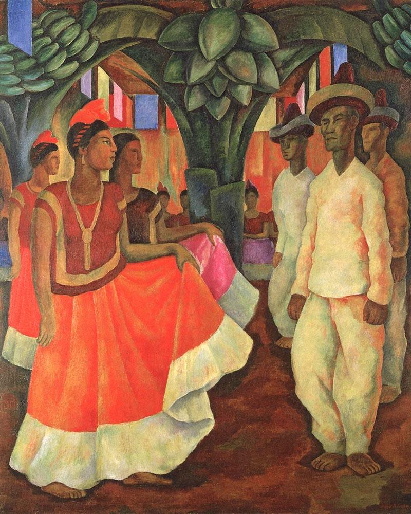 Rivera - Dance in Tehuantepec
