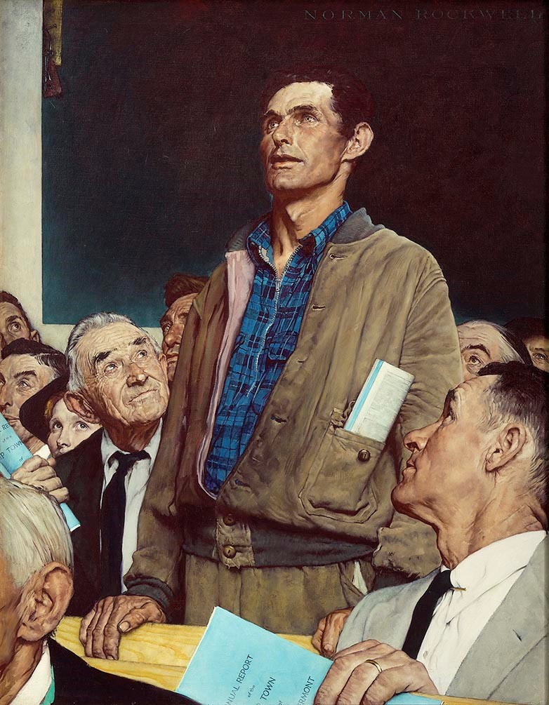 Rockwell - Freedom of Speech