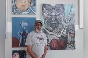 Romeo C. Robinson (Glassell student & artist)