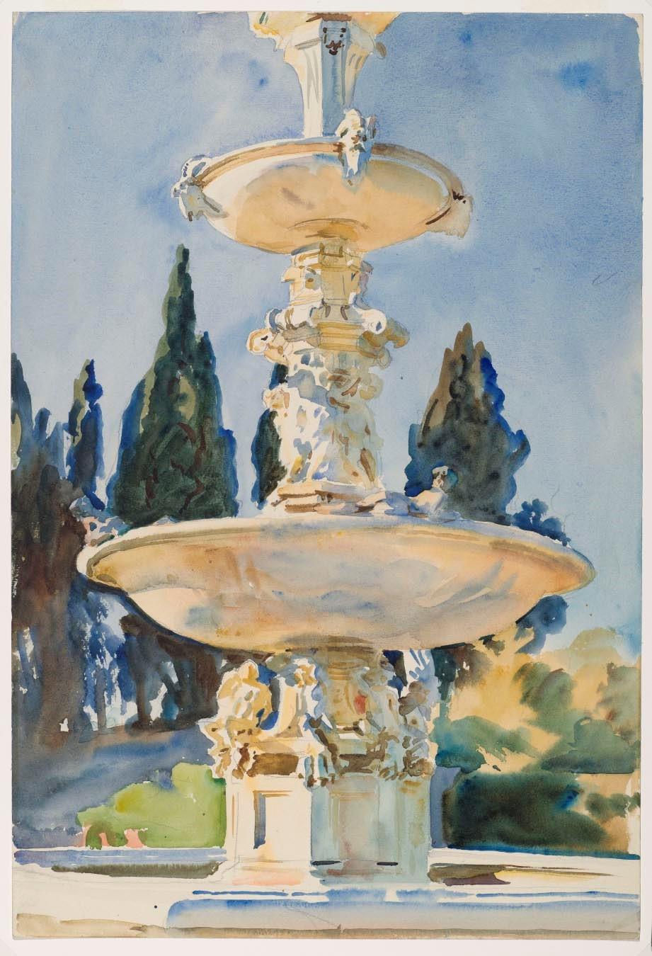 Sargent- In a Medici Villa