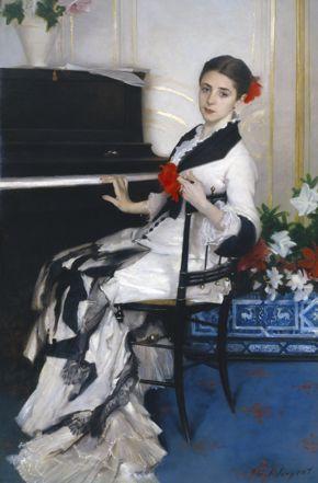 John Singer Sargent, Madame Ramón Subercaseaux, c. 1880–81, oil on canvas