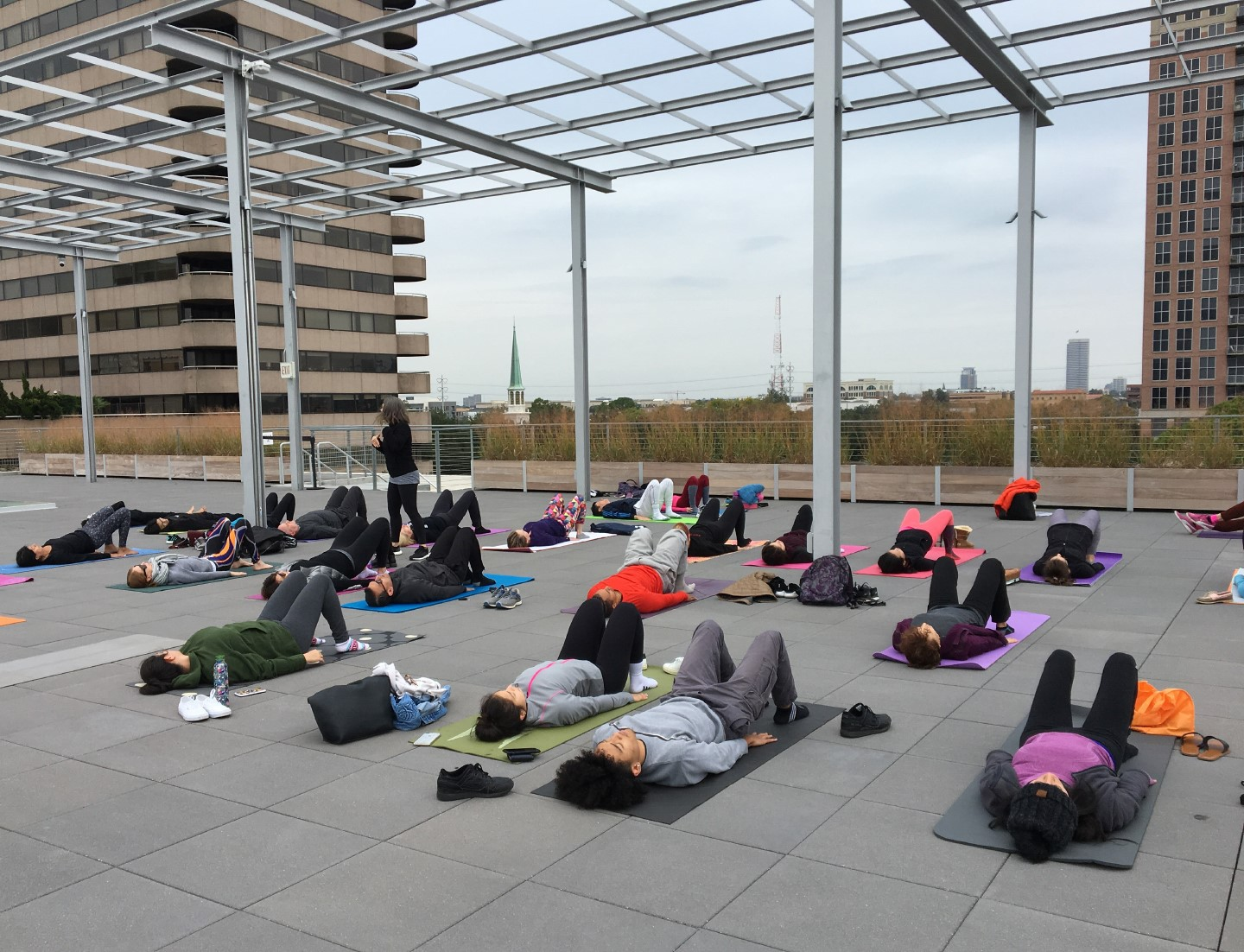 Second Sunday on the Roof: Strength - Pilates