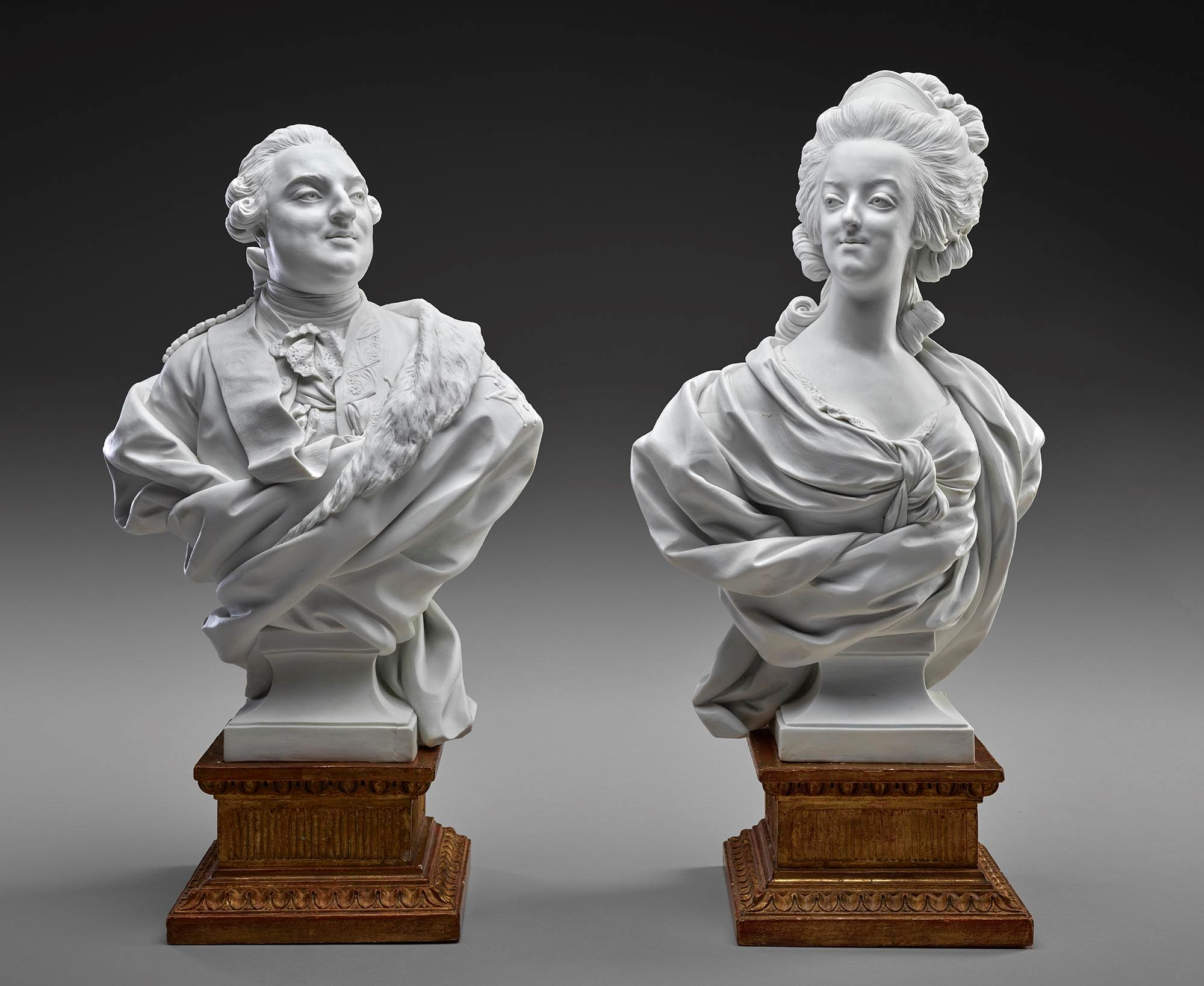 Sèvres - Louis XVI and Marie Antoinette