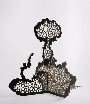 Sherin Guirguis, Mashrabeya, 2009, plywood
