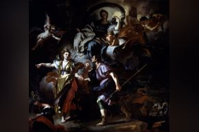 Francesco Solimena, The Royal Hunt of Dido and Aeneas, c. 1712–14, oil on canvas
