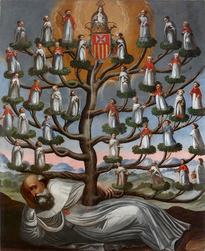 Spanish Colonial (Thoma) - Genealogical Tree of the Mercedarian Order