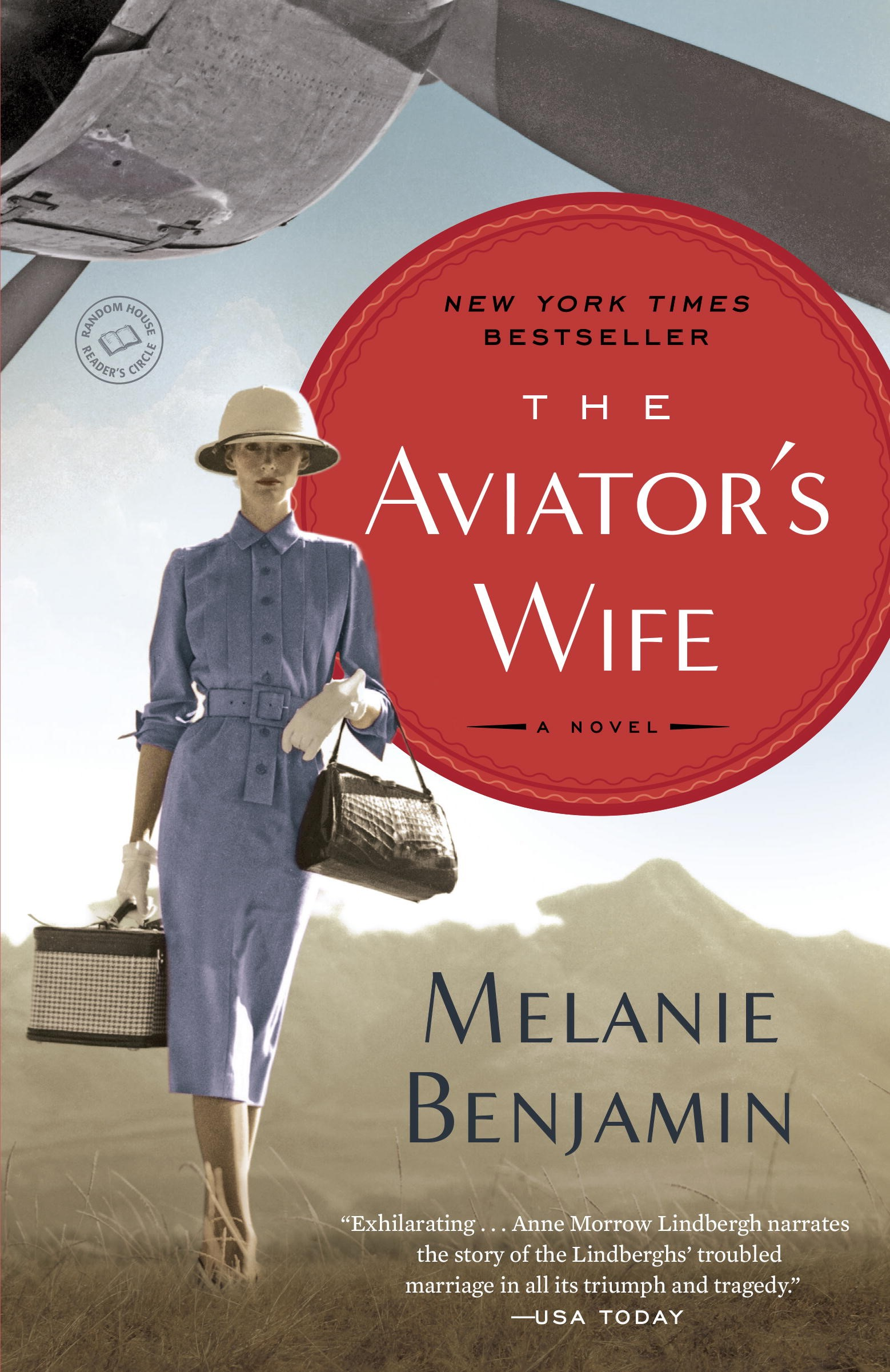 spring 2016 book club pick - the aviator's wife