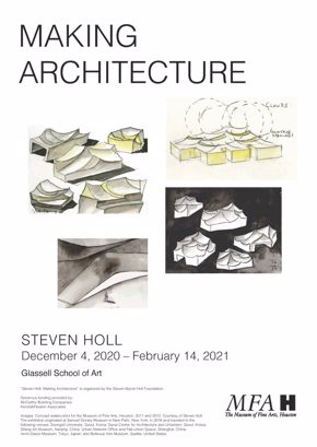 Steven Holl: Making Architecture (poster)
