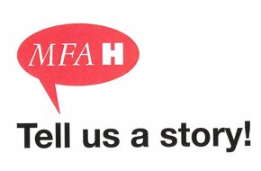 STORY BOOTH BLOG - Tell Us a Story! MFAH logo