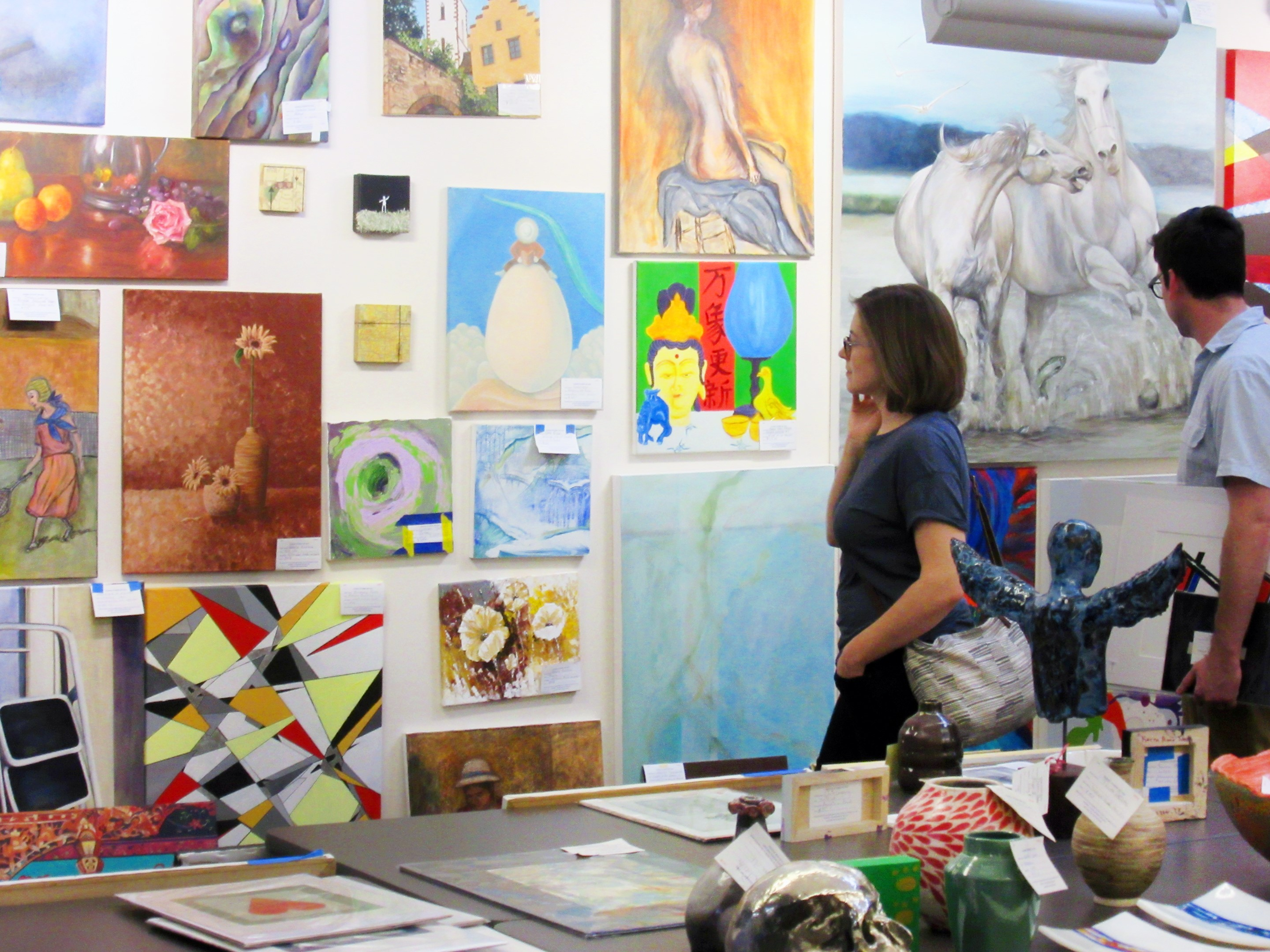 Studio School student art sale 2015 - prints