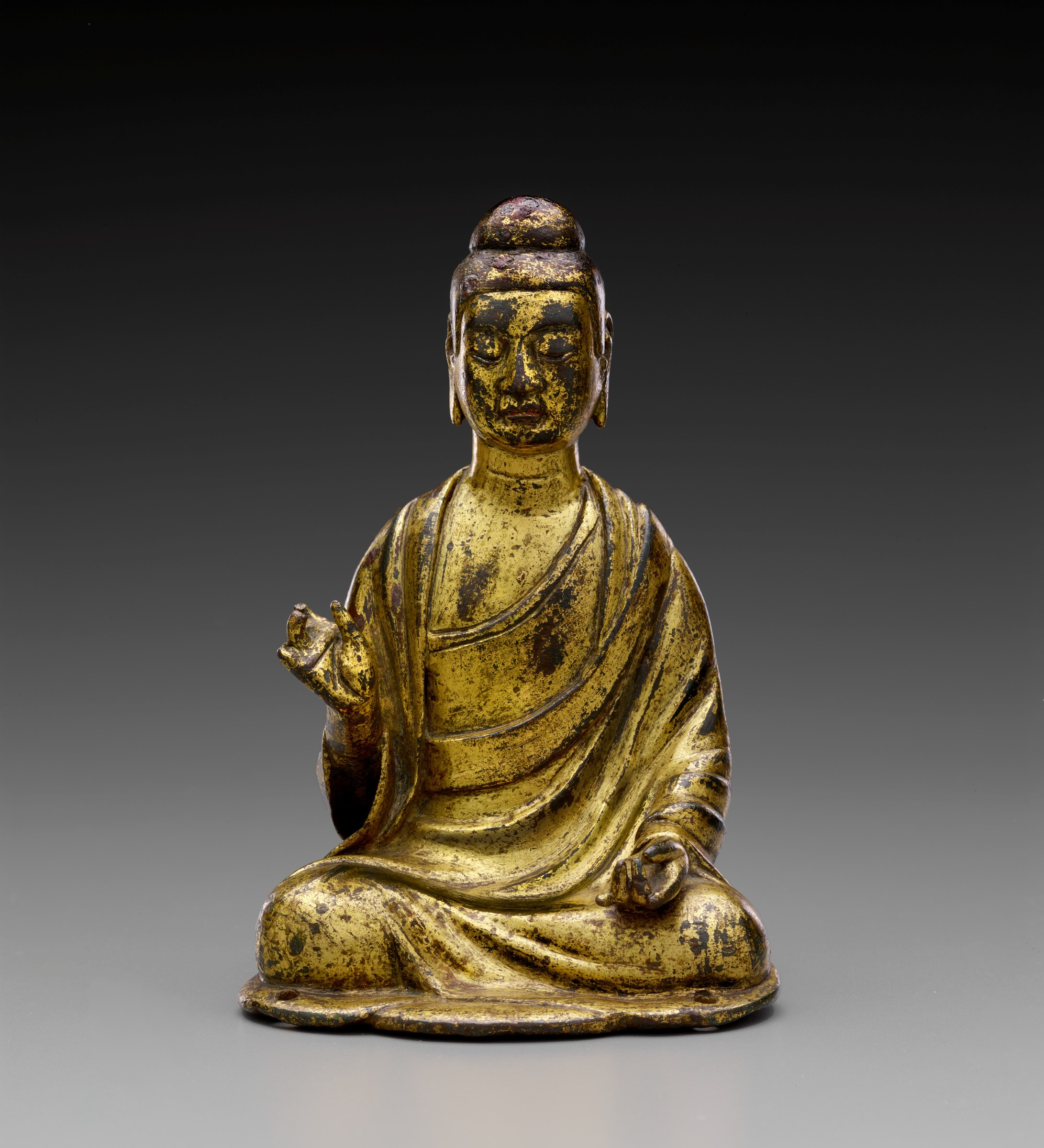 FOR CHINESE BRONZE LECTURE / Chinese, Amitabha Buddha, Swergold collection