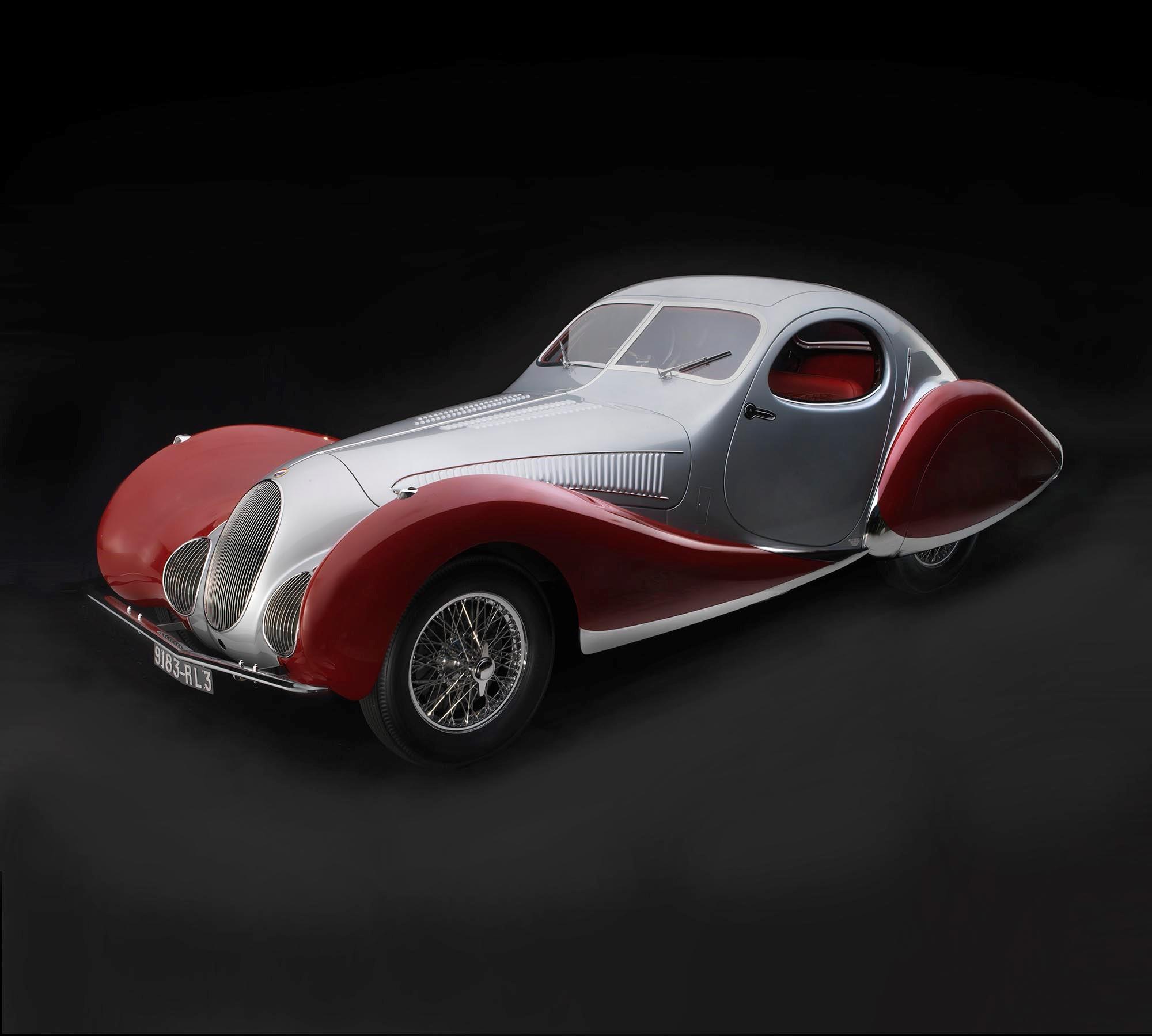 Talbot-Lago - T150C-SS Teardrop Coupe