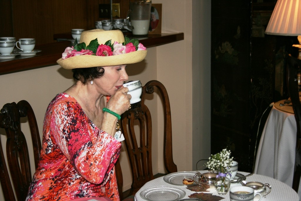 Tea at Rienzi