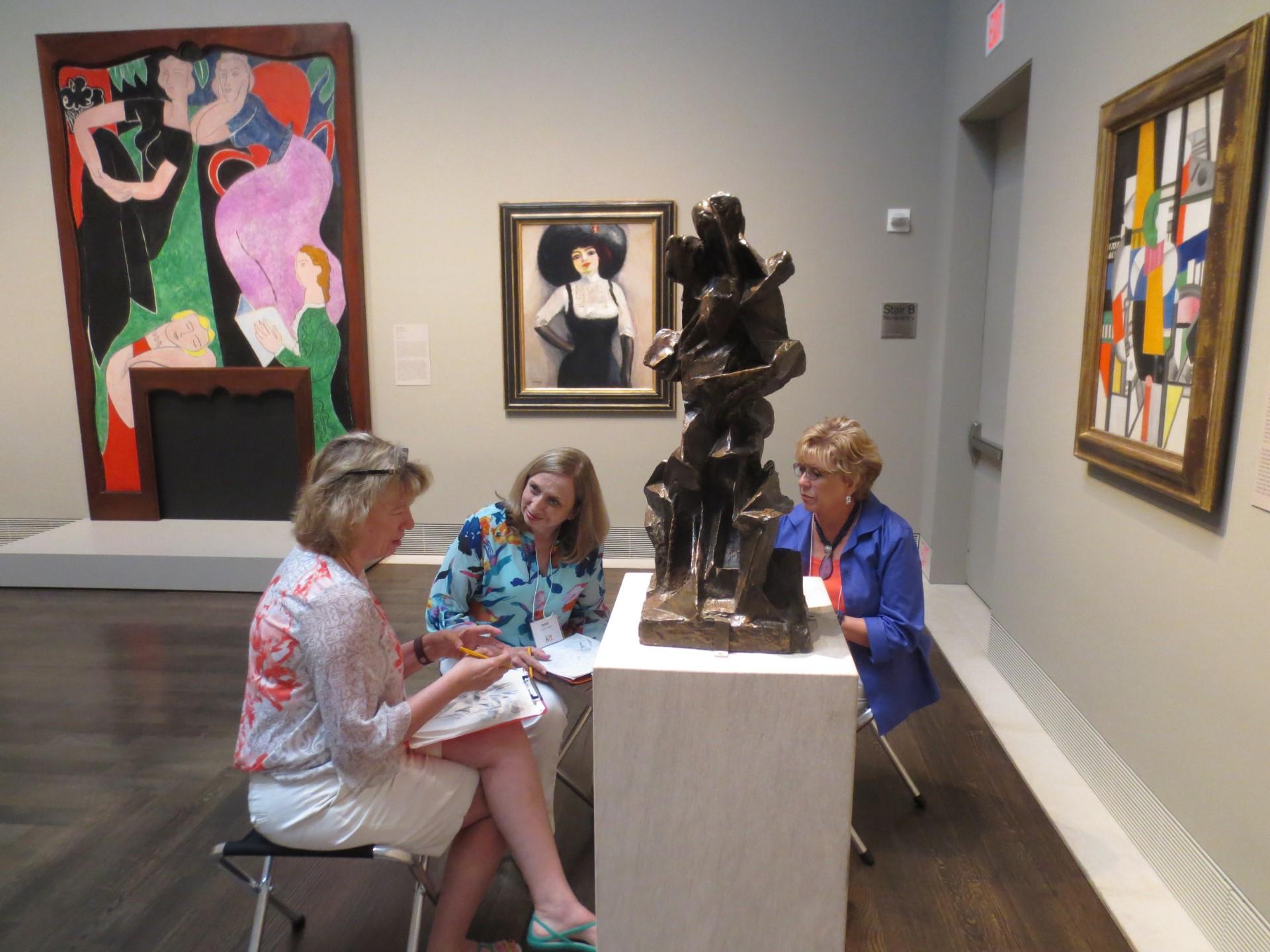 Teacher program / educators in gallery / cohort/fellows