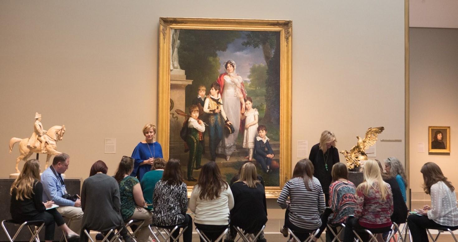 teacher workshop / lta / learning through art in beck galleries