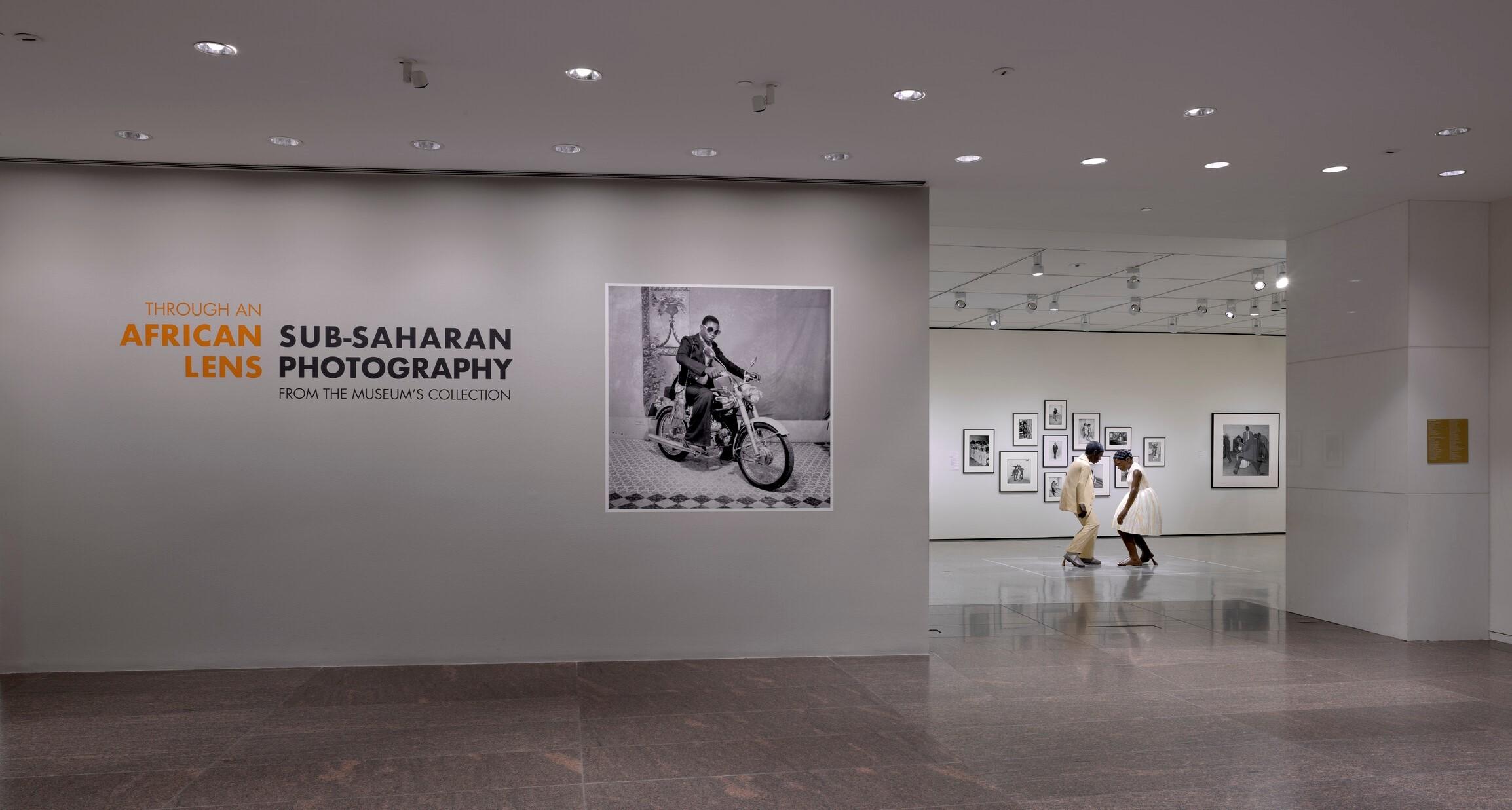 Through an African Lens   installation photo