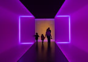 Installation view of The Light Inside. © James Turrell