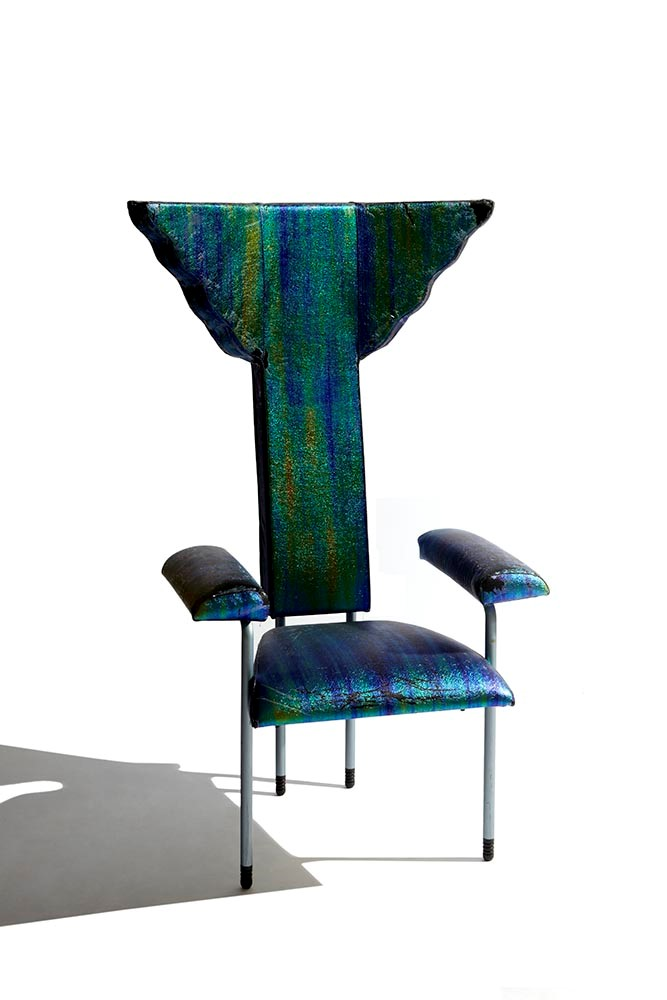 "Ugo La Pietra - ""Poltroncina"" Chair"