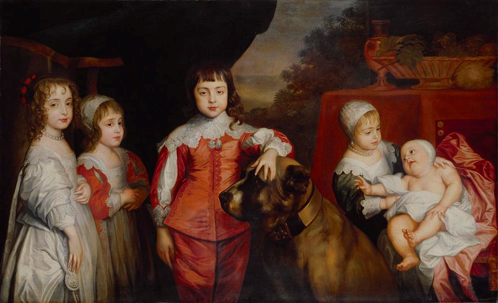 After Sir Anthony van Dyck, Five Children of King Charles I