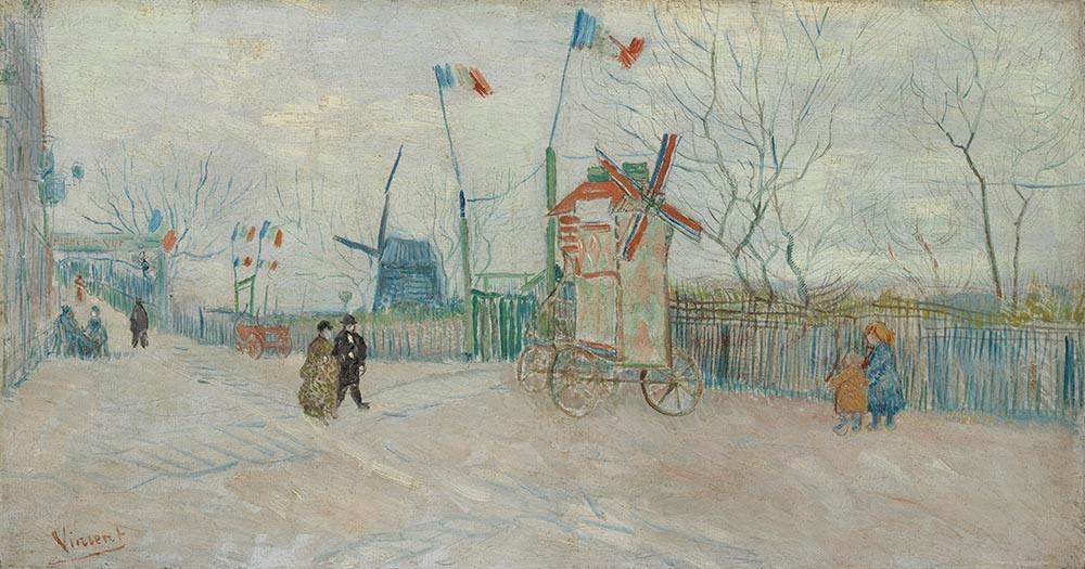 van Gogh - Impasse des deux freres (Van Gogh Museum)