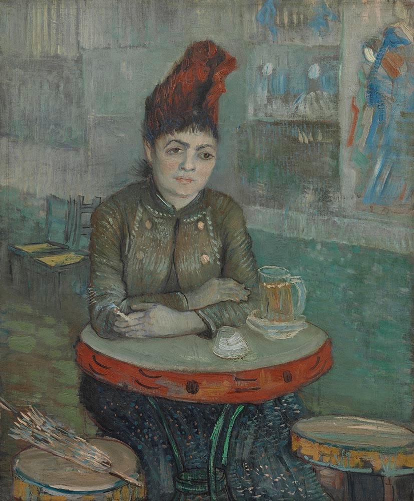 van Gogh - In the Cafe (van Gogh Museum)