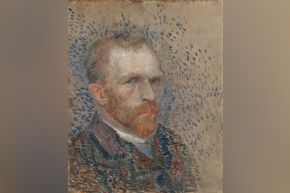 Van Gogh - Self-Portrait, 1887 (Van Gogh Museum)