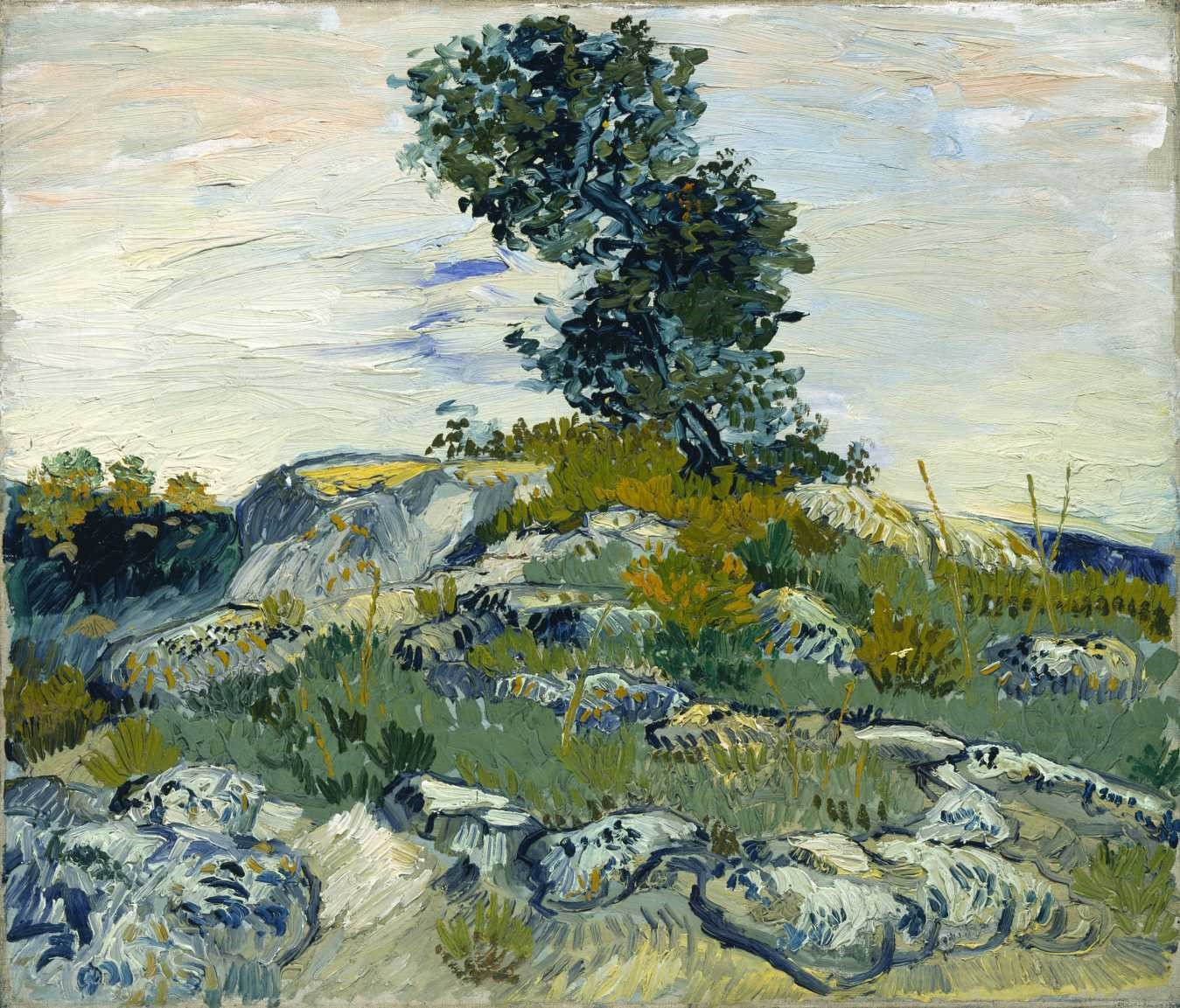 Van Gogh - The Rocks