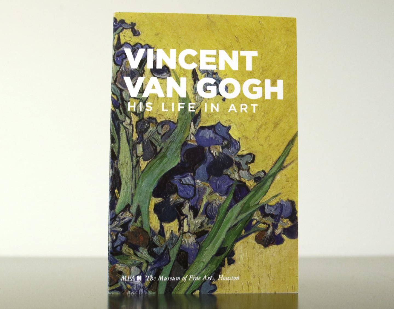 Van Gogh tickets stocking stuffer - front