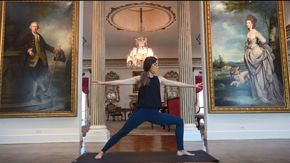 Virtual Yoga at Rienzi